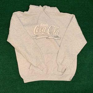 Vintage 90s Coca Cola Jerzees hoodie